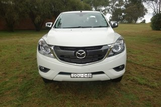 2016 Mazda BT-50 UR0YF1 XTR 4x2 Hi-Rider White 6 Speed Sports Automatic Utility.