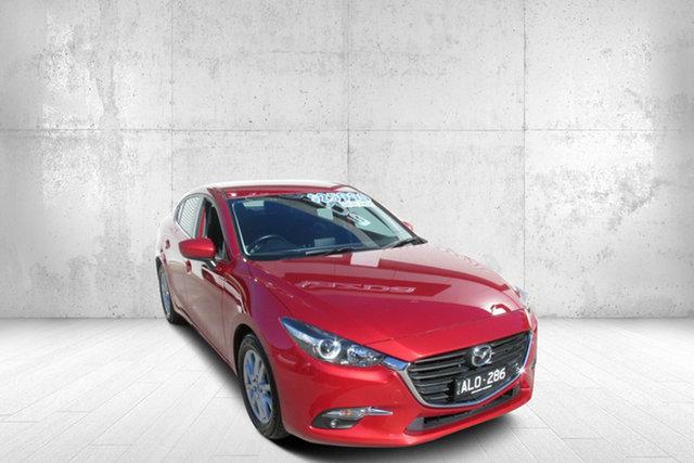 Used Mazda 3 BM5278 Touring SKYACTIV-Drive Bendigo, 2016 Mazda 3 BM5278 Touring SKYACTIV-Drive Soul Red 6 Speed Sports Automatic Sedan
