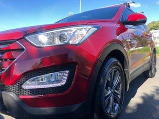 2015 Hyundai Santa Fe DM2 MY15 Active Red/Black 6 Speed Sports Automatic Wagon