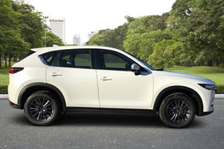 2021 Mazda CX-5 KF2W76 Maxx SKYACTIV-MT FWD White Pearl 6 Speed Manual Wagon.