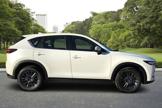 Demo Mazda CX-5 KF2W76 Maxx SKYACTIV-MT FWD Paradise, 2021 Mazda CX-5 KF2W76 Maxx SKYACTIV-MT FWD White Pearl 6 Speed Manual Wagon
