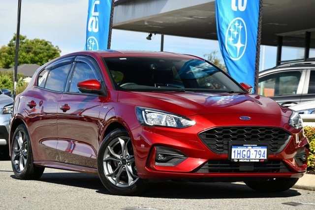 Used Ford Focus SA 2019.75MY ST-Line Melville, 2019 Ford Focus SA 2019.75MY ST-Line Red 8 Speed Automatic Hatchback