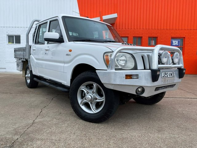 Used Mahindra Pik-Up S5 MY10 Rutherford, 2010 Mahindra Pik-Up S5 MY10 White 5 Speed Manual Cab Chassis