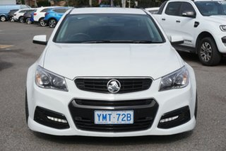 2015 Holden Ute VF II MY16 SV6 Ute White 6 Speed Sports Automatic Utility.