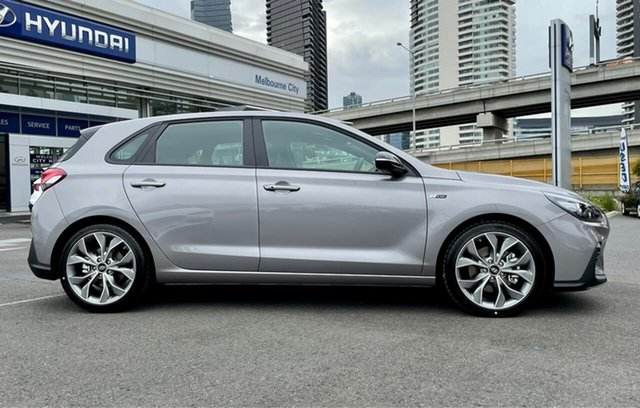 Demo Hyundai i30 South Melbourne, PD.V4 N Line Premium 1.6T-GDi 6spd Man 5dr Hth