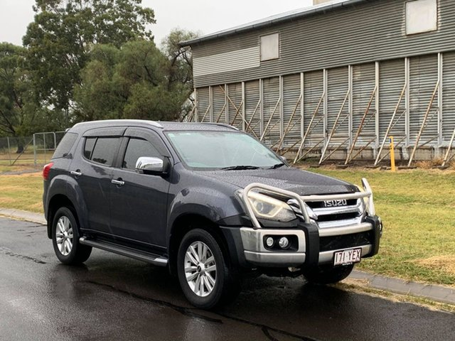 Pre-Owned Isuzu MU-X UC MY17 LS-T (4x4) Oakey, 2018 Isuzu MU-X UC MY17 LS-T (4x4) Grey 6 Speed Auto Sequential Wagon