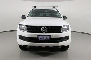 2016 Volkswagen Amarok 2H MY16 TDI420 (4x2) White 8 Speed Automatic Dual Cab Utility.