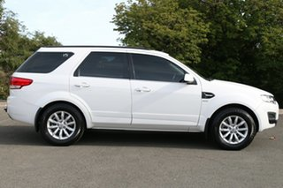 2015 Ford Territory SZ MkII TX Seq Sport Shift AWD Winter White 6 Speed Sports Automatic Wagon
