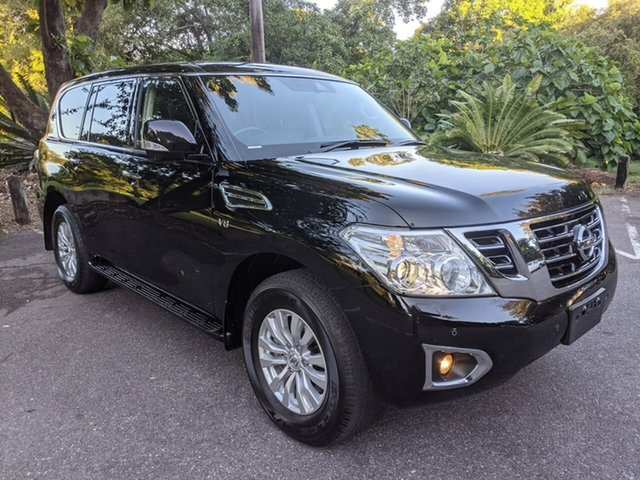 Used Nissan Patrol Y62 Series 4 TI-L Stuart Park, 2019 Nissan Patrol Y62 Series 4 TI-L Black 7 Speed Sports Automatic Wagon