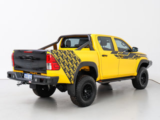 2016 Toyota Hilux GUN125R Workmate (4x4) Yellow 6 Speed Automatic Dual Cab Utility