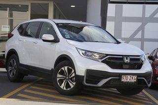 2020 Honda CR-V RW MY21 VTi FWD 7 Platinum White 1 Speed Constant Variable Wagon.
