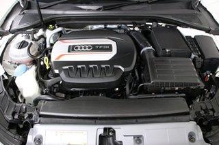 2016 Audi S3 8V MY17 Sportback 2.0 TFSI S Tronic White 7 Speed Auto S-Tronic Hatchback