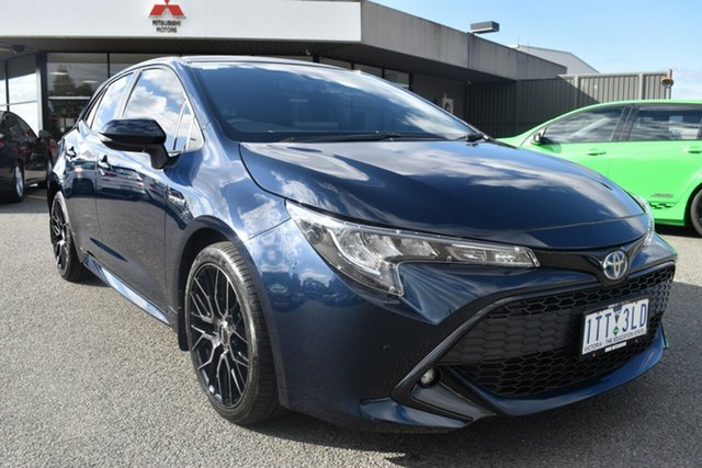 Used Toyota Corolla ZWE211R SX E-CVT Hybrid Wantirna South, 2019 Toyota Corolla ZWE211R SX E-CVT Hybrid Black 10 Speed Constant Variable Hatchback Hybrid