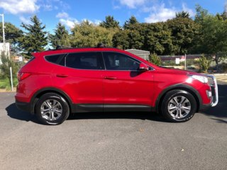 2015 Hyundai Santa Fe DM2 MY15 Active Red/Black 6 Speed Sports Automatic Wagon.