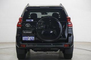 2021 Toyota Landcruiser Prado GDJ150R GXL Black 6 Speed Sports Automatic Wagon