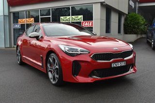 2018 Kia Stinger CK MY18 GT Fastback Red 8 Speed Sports Automatic Sedan.