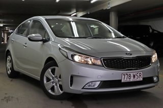 2016 Kia Cerato YD MY17 S Silver 6 Speed Sports Automatic Sedan.