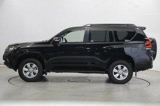 2021 Toyota Landcruiser Prado GDJ150R GXL Black 6 Speed Sports Automatic Wagon.