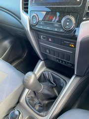 2018 Mitsubishi Triton MR MY19 GLX Double Cab White 6 Speed Manual Utility