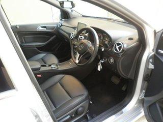 2013 Mercedes-Benz B-Class W246 B200 BlueEFFICIENCY DCT Polar Silver 7 Speed