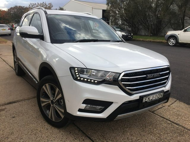 Used Haval H6 Lux Dubbo, 2020 Haval H6 (No Series) Lux White Sports Automatic Dual Clutch