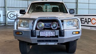 2007 Ford Ranger PJ XL Crew Cab White 5 Speed Manual Cab Chassis