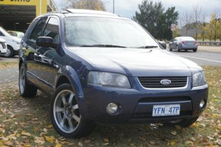 2008 Ford Territory SY SR AWD Blue 6 Speed Sports Automatic Wagon.
