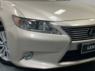 2014 Lexus ES GSV60R ES350 Luxury Beige 6 Speed Sports Automatic Sedan.