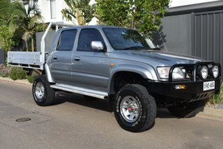 2003 Toyota Hilux VZN167R MY02 SR5 Grey 5 Speed Manual Utility