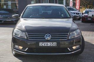 2012 Volkswagen Passat Type 3C MY12.5 118TSI DSG Black 7 Speed Sports Automatic Dual Clutch Sedan.