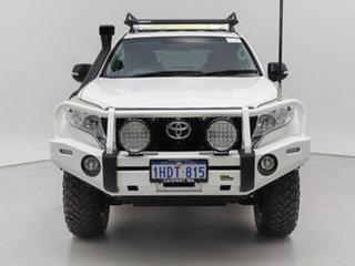 2015 Toyota Landcruiser Prado KDJ150R MY14 GX (4x4) White 6 Speed Manual Wagon.