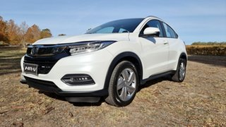 2021 Honda HR-V MY21 VTi-S Platinum White 1 Speed Automatic Hatchback