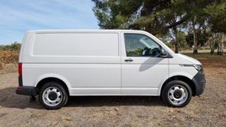2020 Volkswagen Transporter T6.1 MY21 TDI450 SWB DSG 4MOTION Candy White 7 Speed Direct Shift Van.