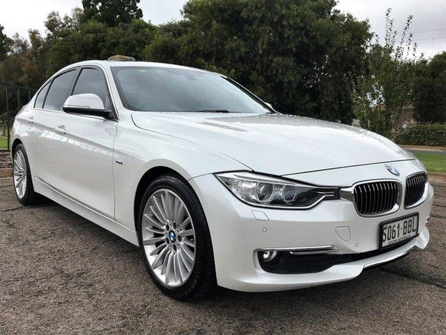 Used BMW 320d F30 MY0812 320d Enfield, 2012 BMW 320d F30 MY0812 320d White 8 Speed Sports Automatic Sedan