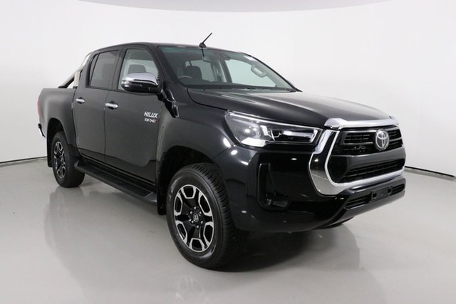 Used Toyota Hilux GUN126R Facelift SR5 (4x4) Bentley, 2020 Toyota Hilux GUN126R Facelift SR5 (4x4) Black 6 Speed Automatic Double Cab Pick Up
