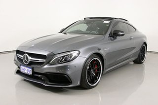 2017 Mercedes-AMG C63 S C Selenite Grey 7 Speed Automatic Coupe.