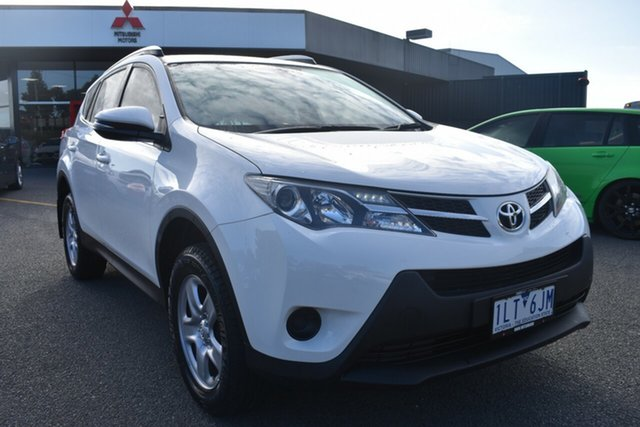 Used Toyota RAV4 ZSA42R GX 2WD Wantirna South, 2013 Toyota RAV4 ZSA42R GX 2WD White 7 Speed Constant Variable Wagon