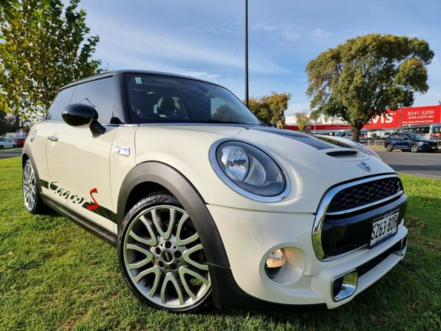 Used Mini Hatch F56 Cooper S Hindmarsh, 2014 Mini Hatch F56 Cooper S White 6 Speed Manual Hatchback