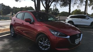 2021 Mazda 2 DJ2HAA G15 SKYACTIV-Drive Pure Soul Red 6 Speed Sports Automatic Hatchback.
