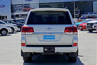 2017 Toyota Landcruiser VDJ200R Sahara White 6 Speed Sports Automatic Wagon