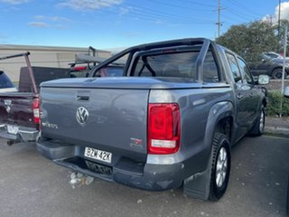 2011 Volkswagen Amarok 2H MY12 TDI400 (4x4) Grey 6 Speed Manual Dual Cab Utility.