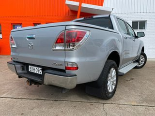 2013 Mazda BT-50 UP0YF1 XTR Silver 6 Speed Sports Automatic Utility