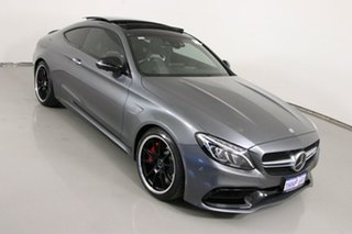 2017 Mercedes-AMG C63 S C Selenite Grey 7 Speed Automatic Coupe