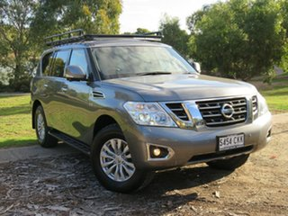 2018 Nissan Patrol Y62 Series 4 TI-L Grey 7 Speed Sports Automatic Wagon.