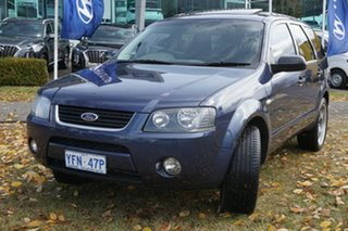 2008 Ford Territory SY SR AWD Blue 6 Speed Sports Automatic Wagon