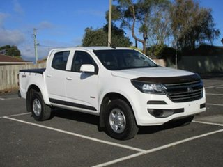 2018 Holden Colorado RG Turbo LS White Auto Seq Sportshift Dual Cab Utility.