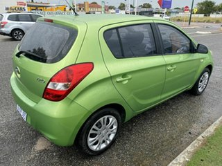2012 Hyundai i20 PB MY12 Active Green 4 Speed Automatic Hatchback.