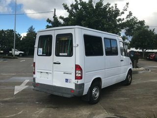 2003 Mercedes-Benz Sprinter 208CDI High Roof MWB White 6 Speed Seq Manual Auto-Clutch Van