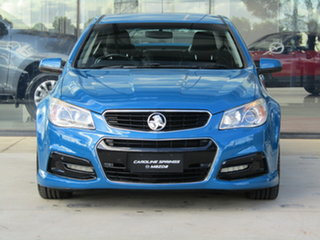 2013 Holden Commodore VF MY14 SS Blue 6 Speed Sports Automatic Sedan.
