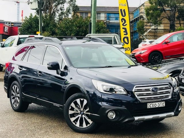 Used Subaru Outback B6A MY15 2.5i CVT AWD Premium Liverpool, 2015 Subaru Outback B6A MY15 2.5i CVT AWD Premium Blue 6 Speed Constant Variable Wagon